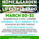 Home and Garden Lifestyle Expo Flyer