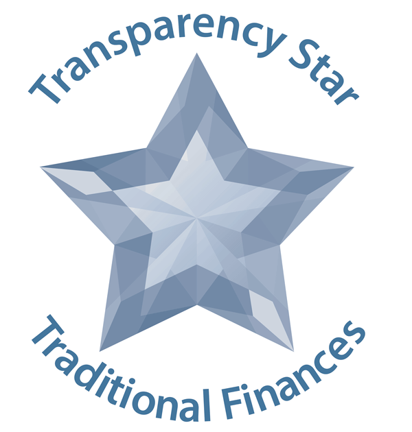 Traditional Finances Transparency Star