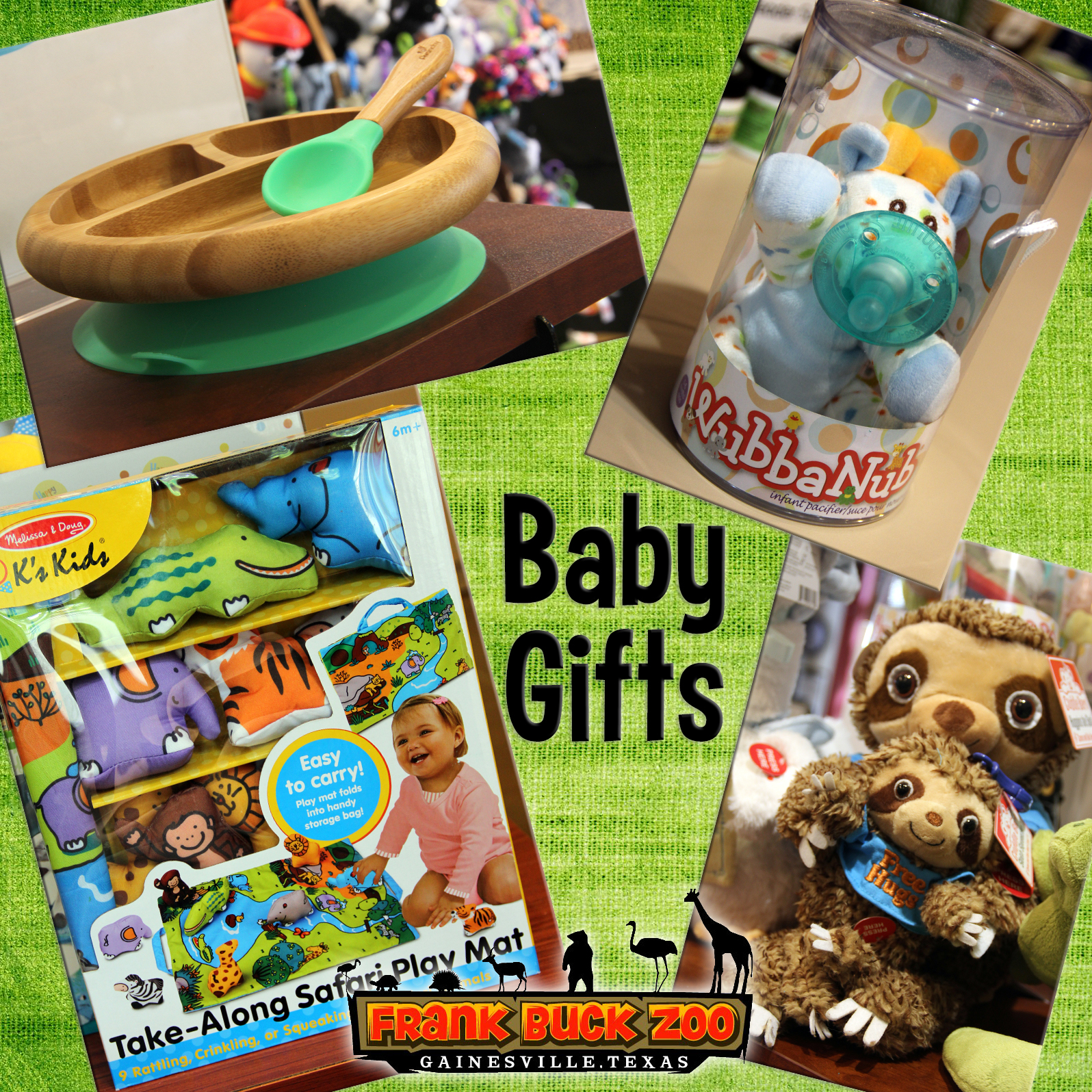 Baby Gifts Collage