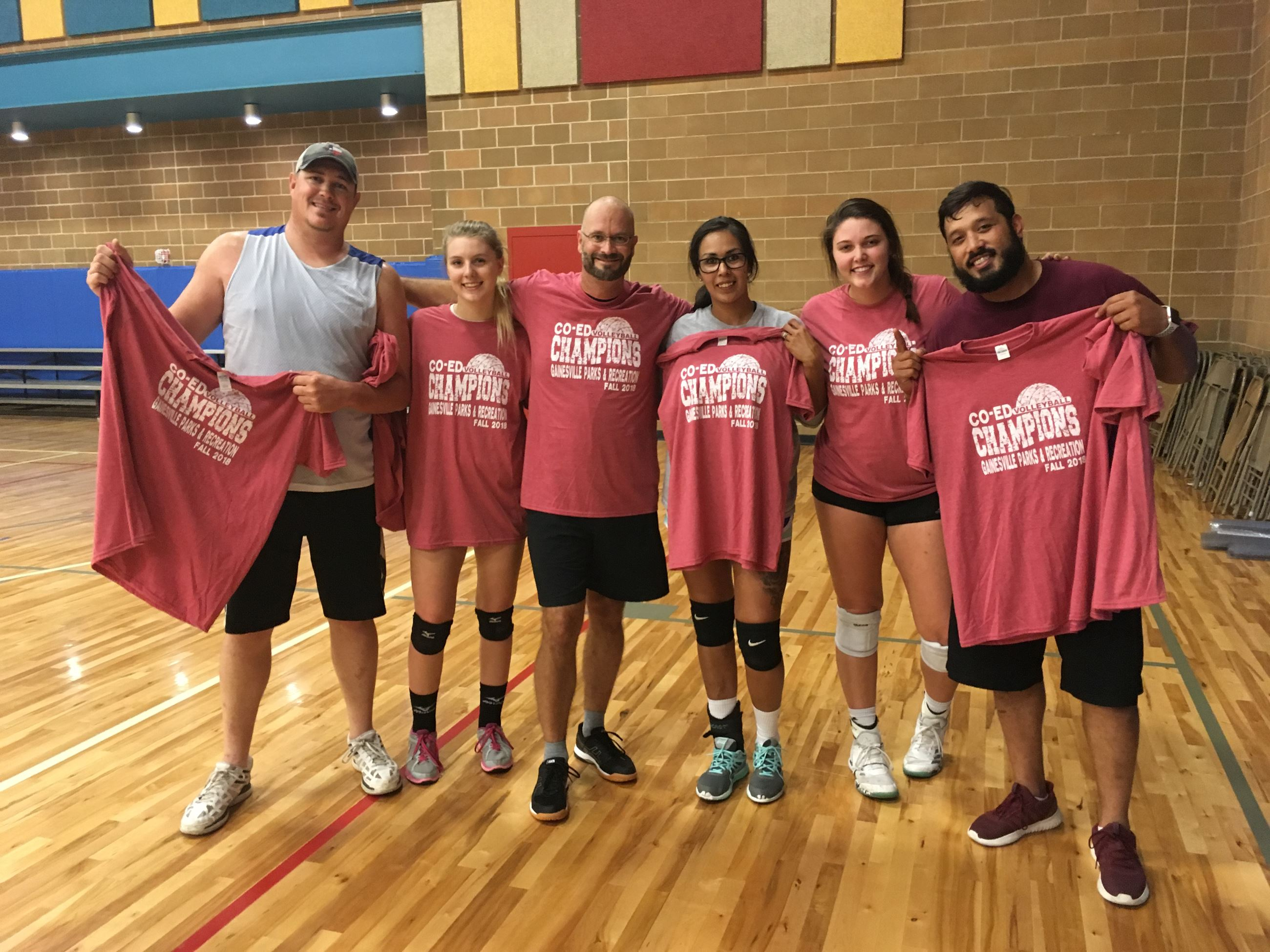 2018 Fall Volleyball Champs
