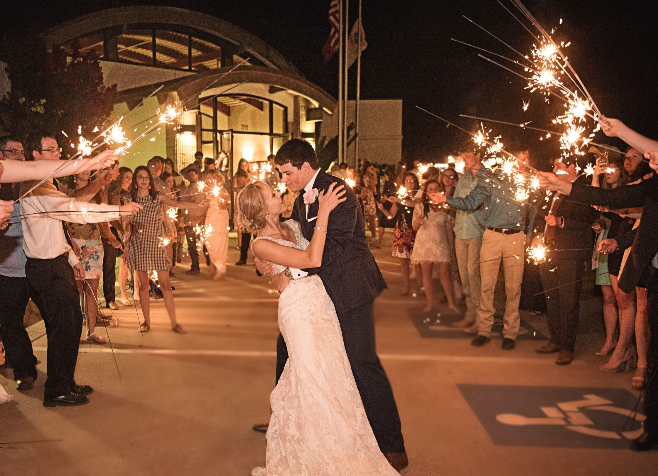 Dazzling Send Off by Miranda Marrs Photography